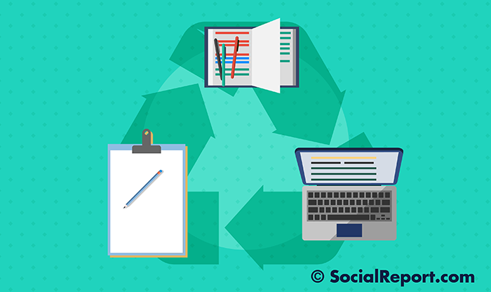 The Benefits Of Recycling Content On Social Media