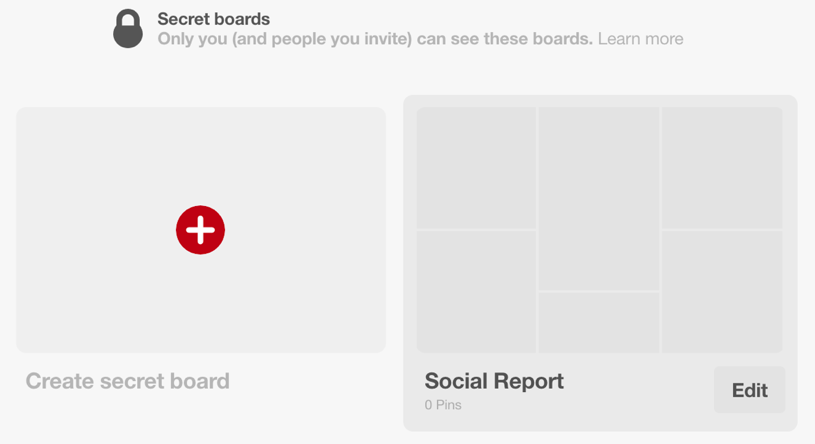 Create Secret Boards On Pinterest