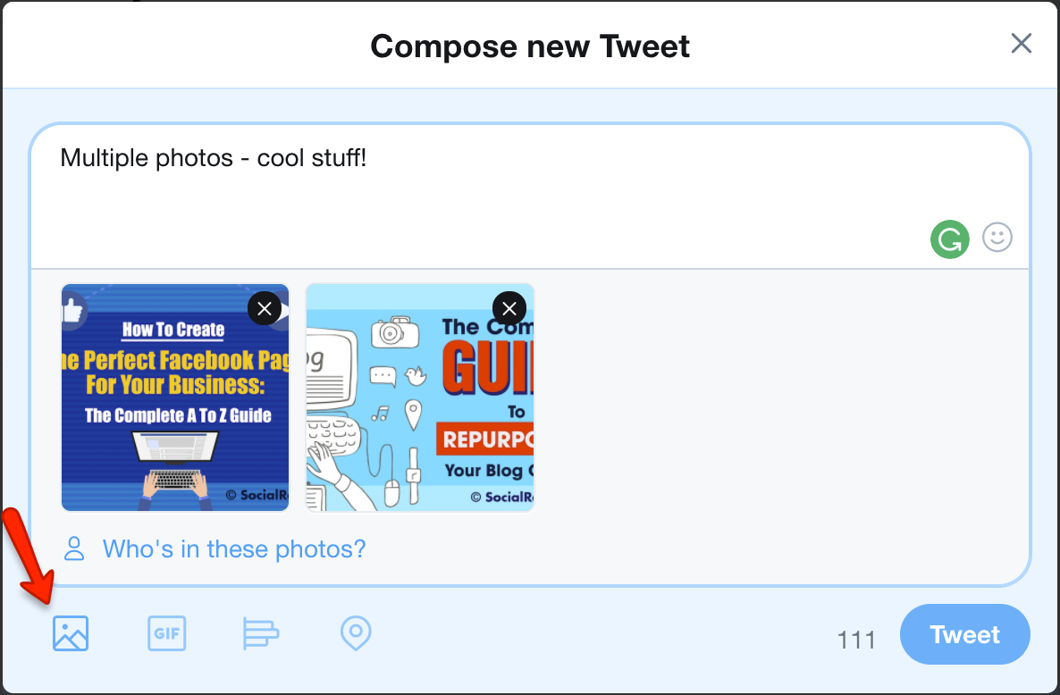 Twitter Share Multiple Photos In A Single Tweet