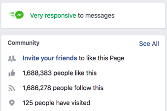 Facebook very responsive to messages badge