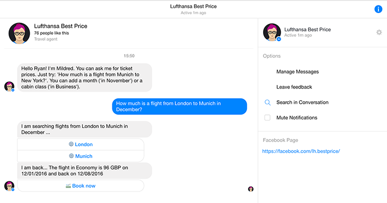 Benefits Of Facebook Messenger Chatbots