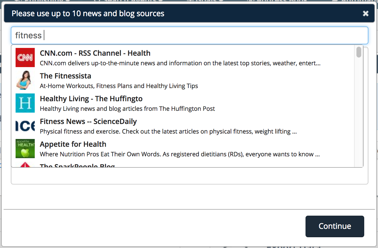 Curating Content Via RSS Feeds