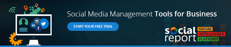 Social Report Social Media Management Free Trial Offer