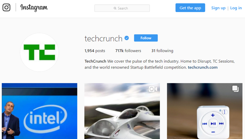 Instagram Techcrunch