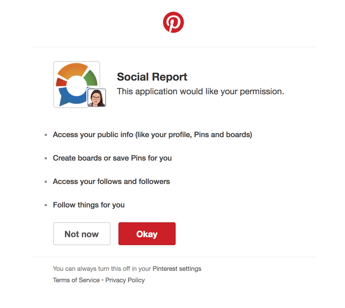 Login to Pinterest