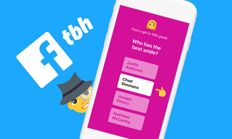 Facebook Acquires tbh Graphic