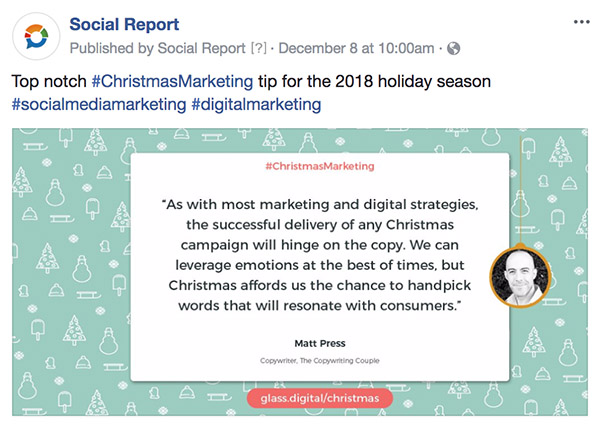 Christmas Marketing Tip