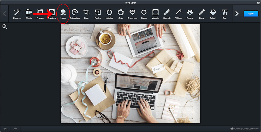 Adding Images In Photo Editor