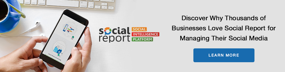 Social Report for Managing Social Media