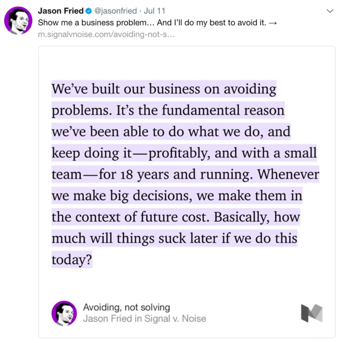 jason fried no twitter em 2018