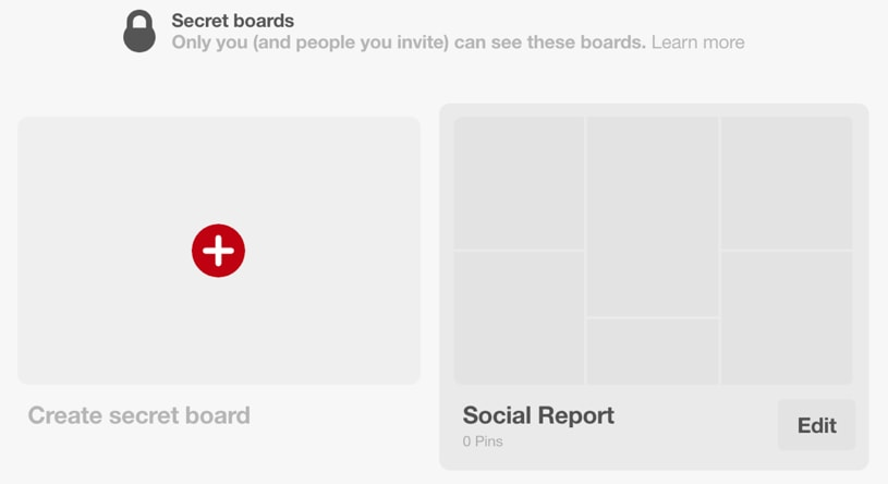 secret boards pinterest 2018