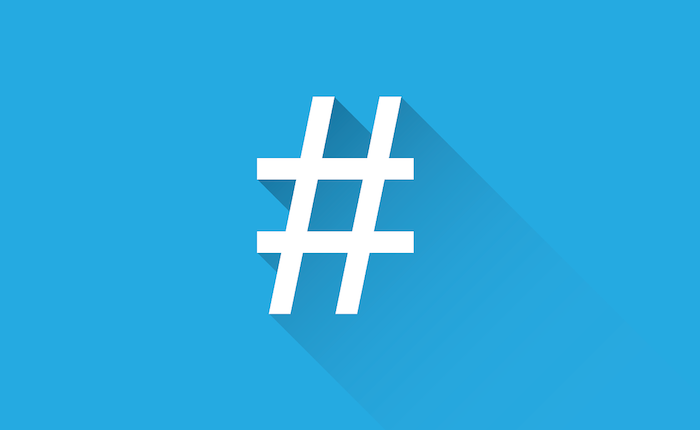Hashtag templates in Social Report