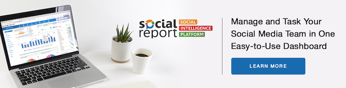 Use Social Report to manage your branded social media